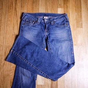 True Religion Twisted Flare Joey Jeans